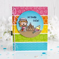 Sunny Studio Stamps Coastal Cuties Card by Leanne West