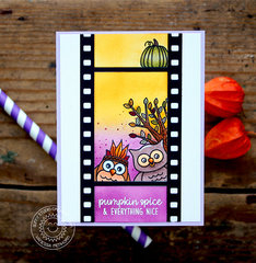 Sunny Studio Stamps Fall Owl Card by Vanessa Menhorn