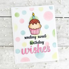 Sunny Studio Stamps Heartfelt Wishes Birthday Card