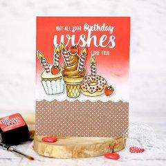 Sunny Studio Stamps Heartfelt Wishes card by Lexa Levana
