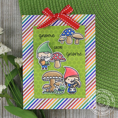 Sunny Studio Stamps Gnome Pop-Up Card by Juliana Michaels
