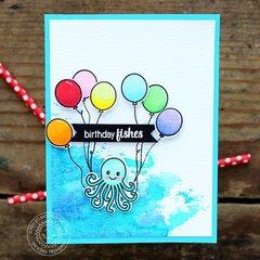 Sunny Studio Stamps Oceans of Joy Card by Vanessa Menhorn.