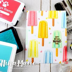 Sunny Studio Stamps Perfect Popsicles Card by Nina Marie Trapani