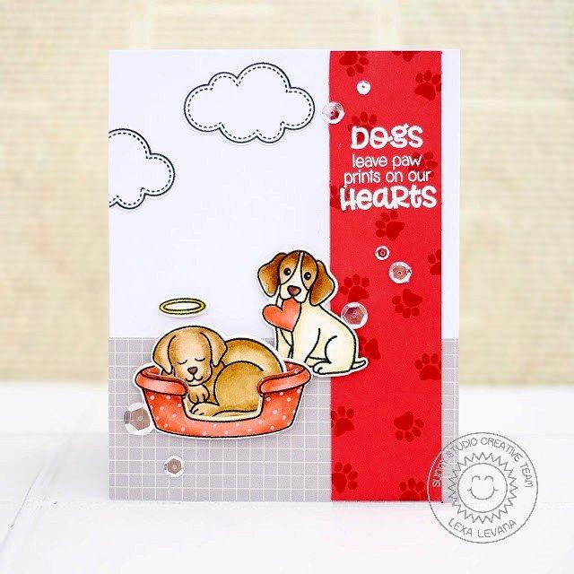Sunny Studio Pet Sympathy Card by Lexa Levana