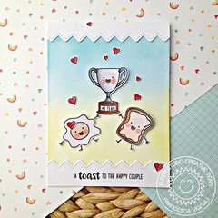 Sunny Studio Stamps Team Player Trophy Card by Franci Vignoli