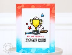 Sunny Studio Stamps Team Player Trophy Card by Nancy Damiano