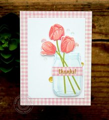 Sunny Studio Timeless Tulip Card by Vanessa Menhorn