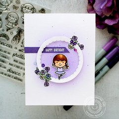 Sunny Studio Stamps Tiny Dancer Card by Vanessa Menhorn