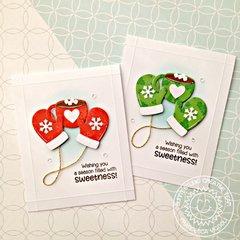 Sunny Studio Stamps Warm & Cozy Card by Francesca Vignoli