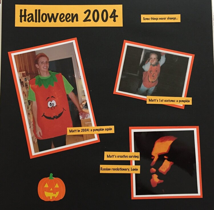 Halloween 2004 Some things never change