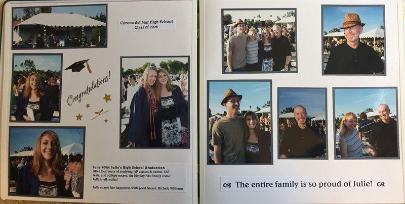 Julie's Graduation 2008