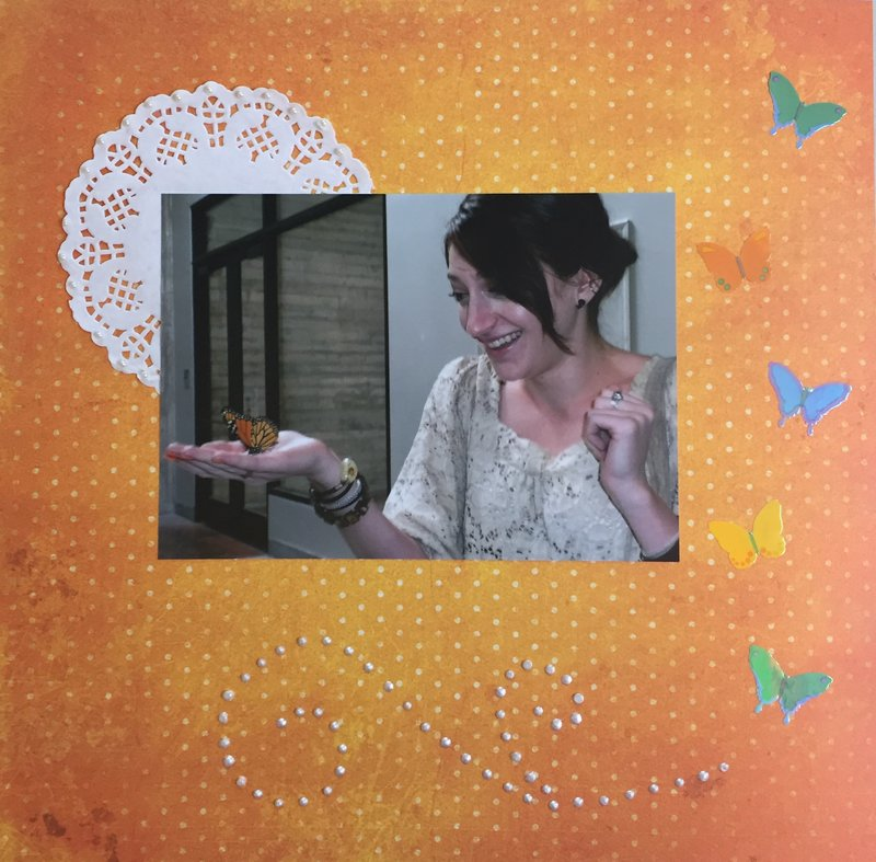 Julie & the butterfly