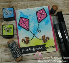 Lawn Fawn Summer Inspired Card