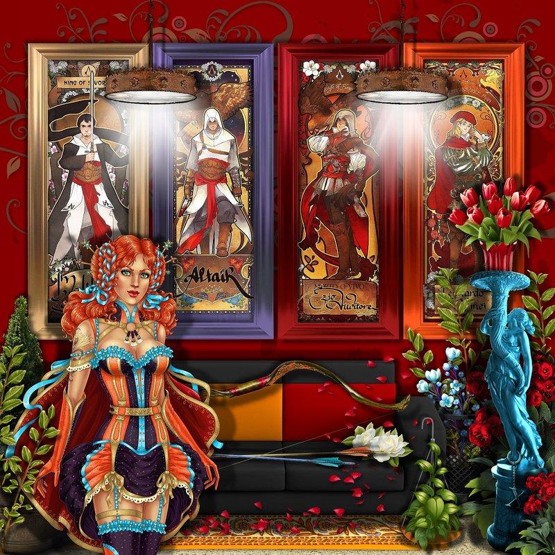 Fantasy Nouveau Posters