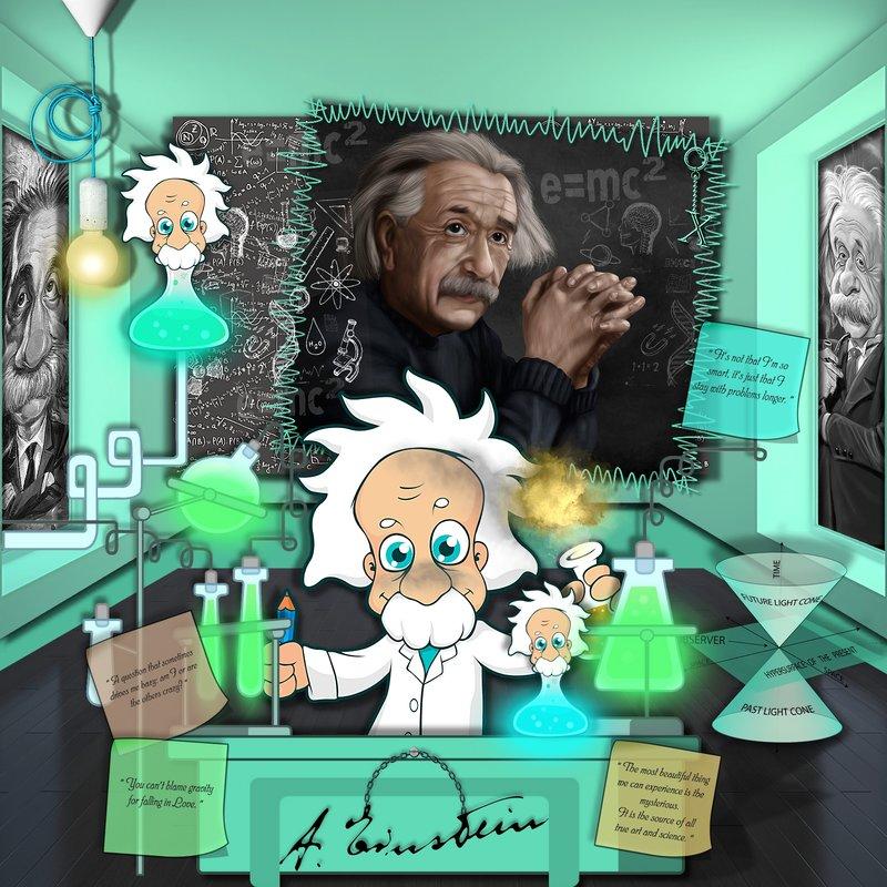 Hazy Einstein