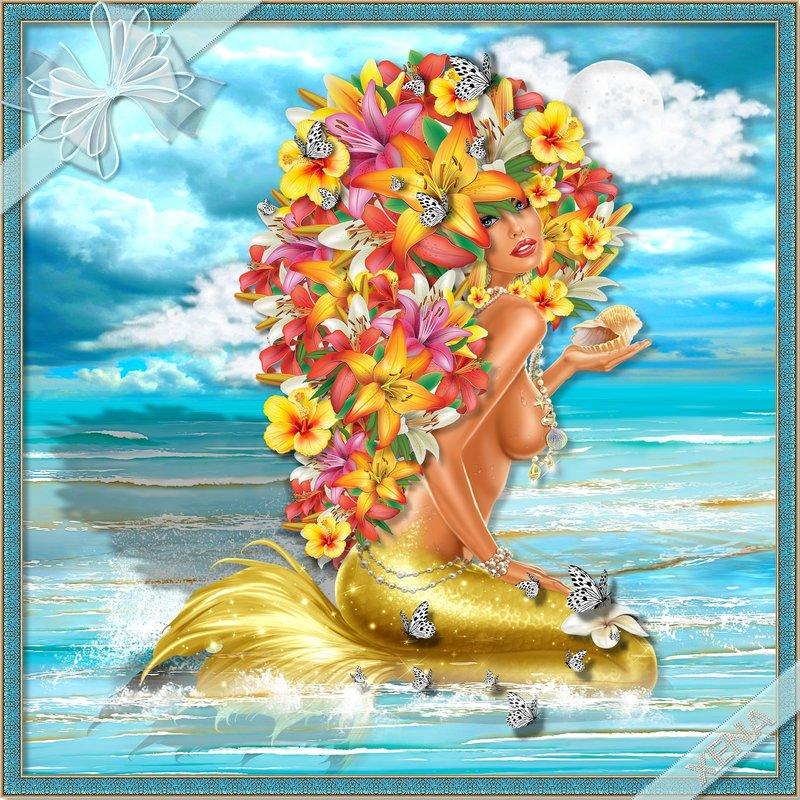 The Beach Mermaid