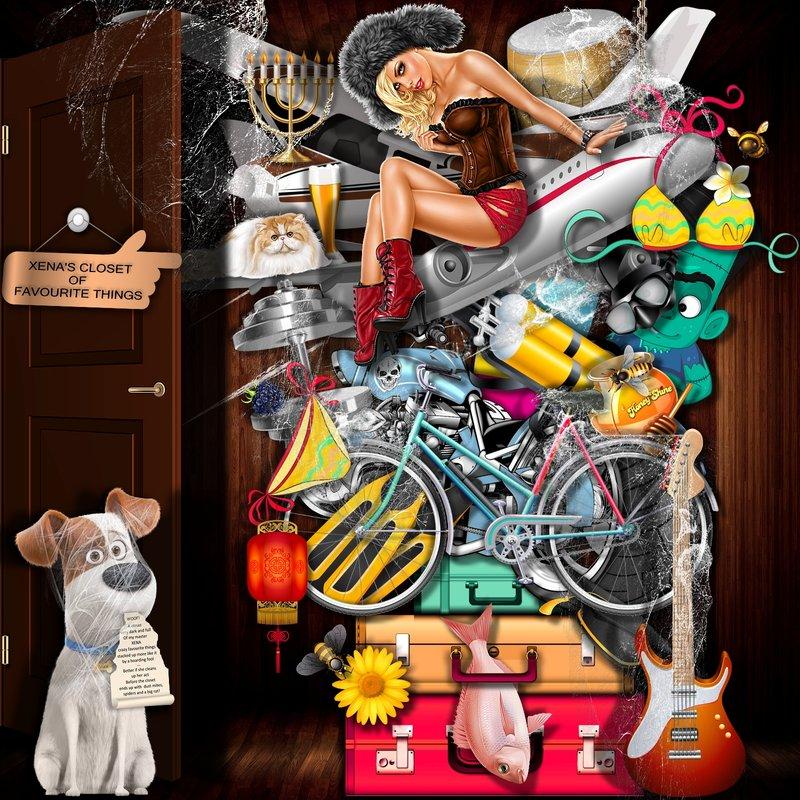 Xena's Messy Closet