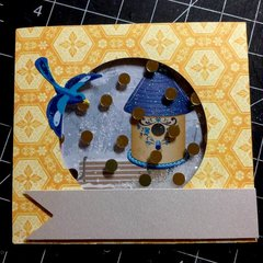 Birdhouse Card #3