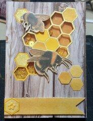 Bee Card #5