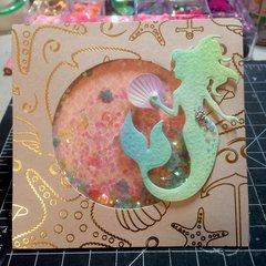 Mermaid Card #4