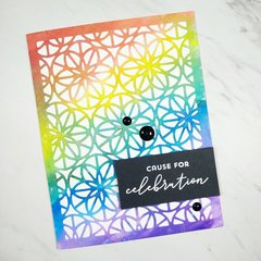 Rainbow Celebration Card