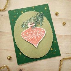 Retro Ornament Card