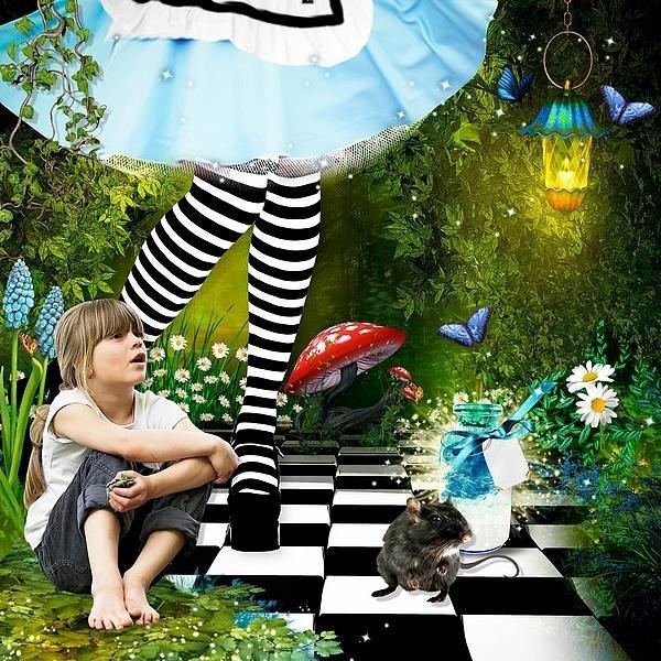 Alice & Spring in Wonderland