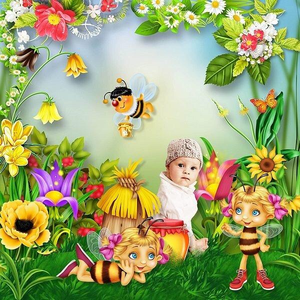 Le monde de Muriel l'abeille
