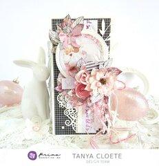 Prima Design Team 2019/2020 - Santa Baby + Flirty Fleur Card
