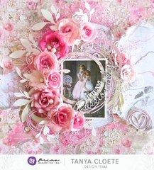 Prima Capri + Butterfly Bliss & Rose Quartz Layout