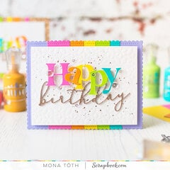 Colorful Happy Birthday