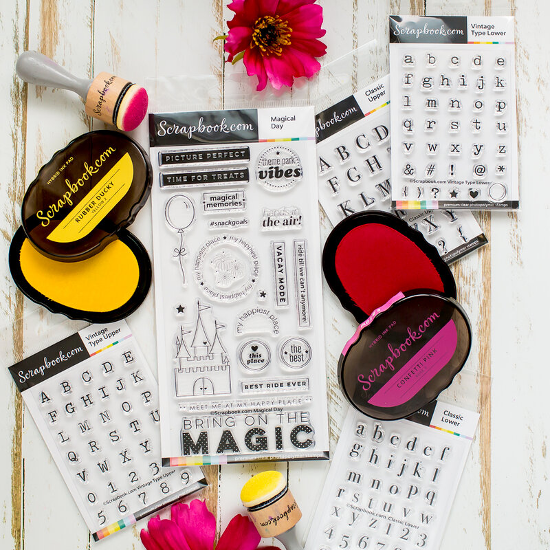 Magical exclusive stamps