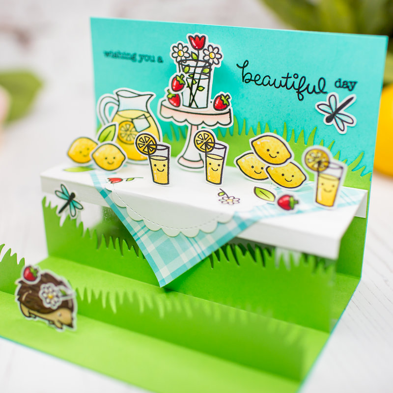 Sweet wishes | Lawn Fawn Card