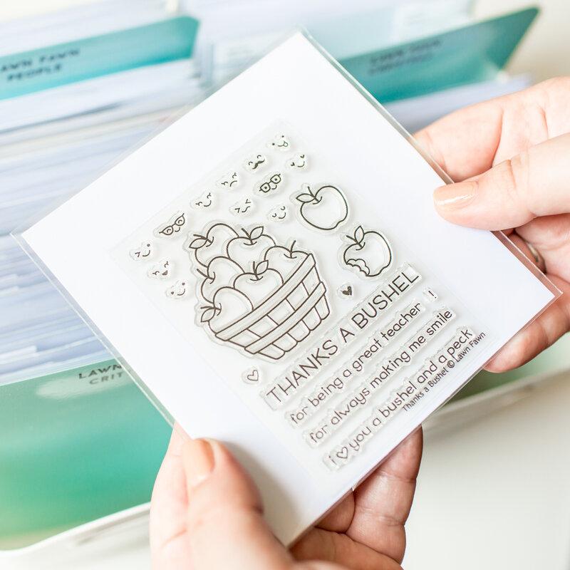 The best Stamp and Die Storage Pockets