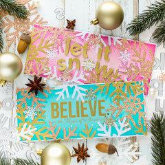 [Video] Creating Slimline Christmas Cards