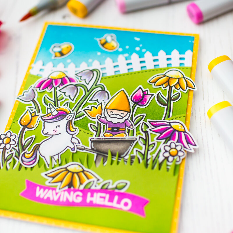 Lawn Fawn Spring Series | Video Tutorial