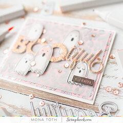 BOOtiful friend | Girly halloween card