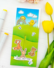 Lawn Fawn  Interactive card
