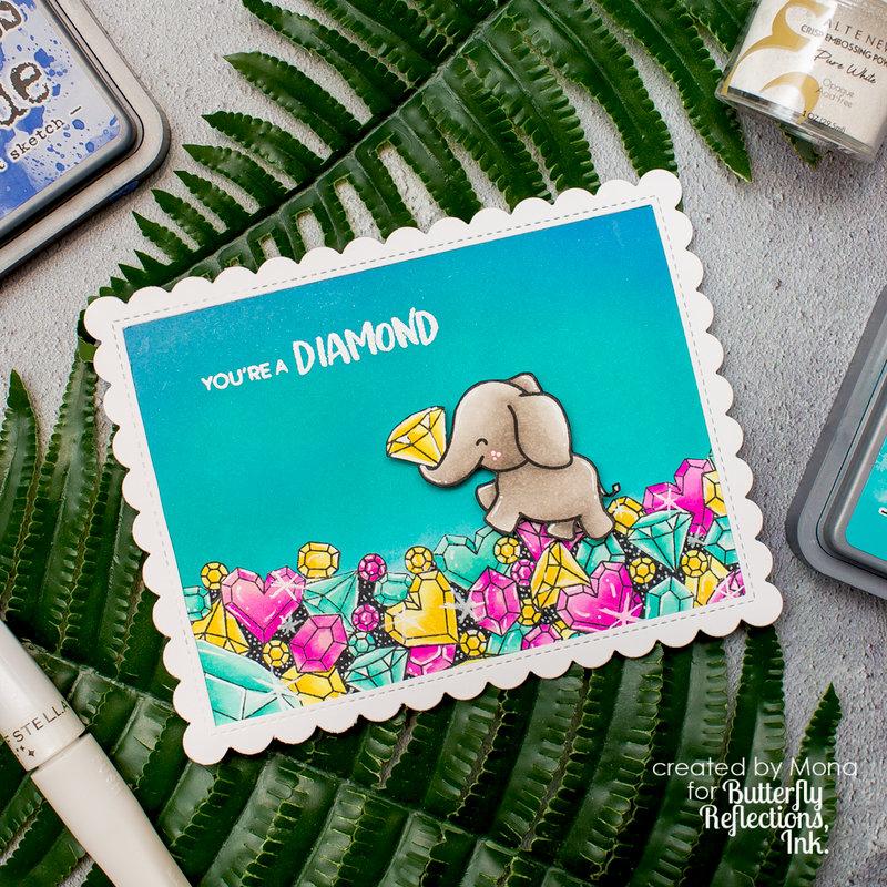 You are a diamond Heffy Doodle card