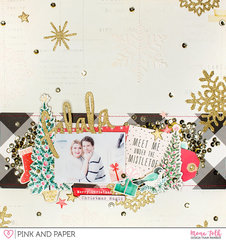 Falala Scrapbook Layout