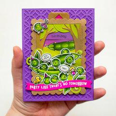 Hap-Pea Birthday
