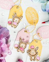 Cute bunny tags