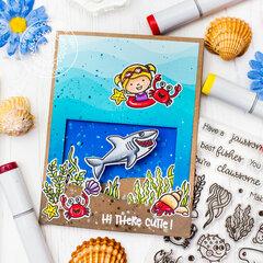Interactive underwater card