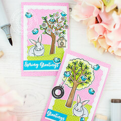 Mini cards | Sunny Studio Stamps