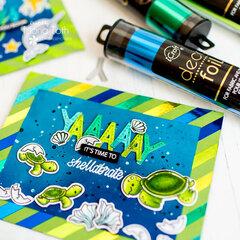 Deco Foil Transfer Sheet Cards | Therm o web | Heffy Doodle