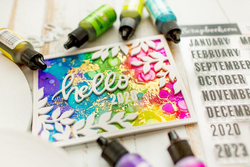 New year adhesive love
