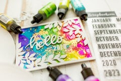New year adhesive love
