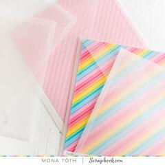 13x13 paper storage solution