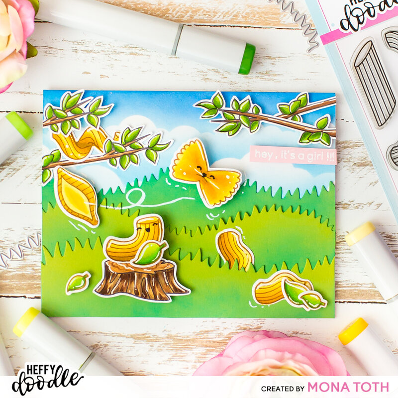 Pasta La Vista | Heffy Doodle Video tutorial