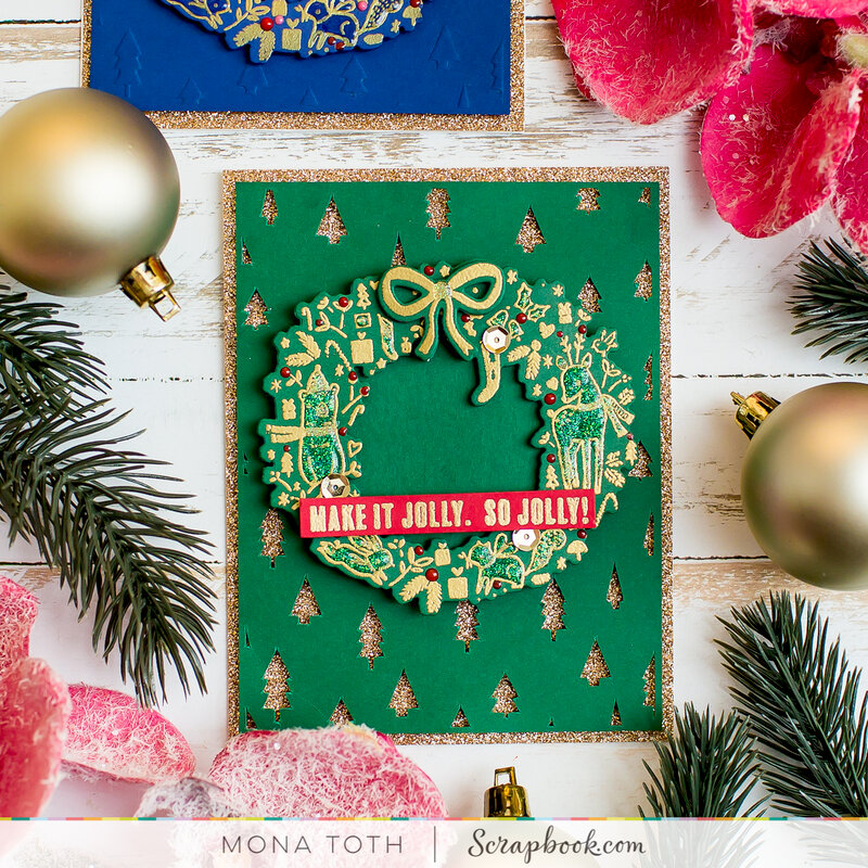 Make It Jolly   Cards with Digital Cut Files
